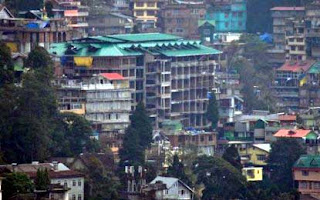 high illegal building in darjeeling town