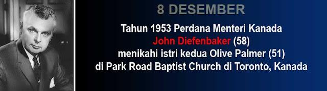 Hari pernikahan John Diefenbaker