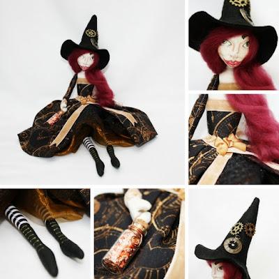 Thyme Art Doll