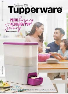Rice Smart Purple Tupperware Tempat Beras Yang Ramping Daya Tampung Besar