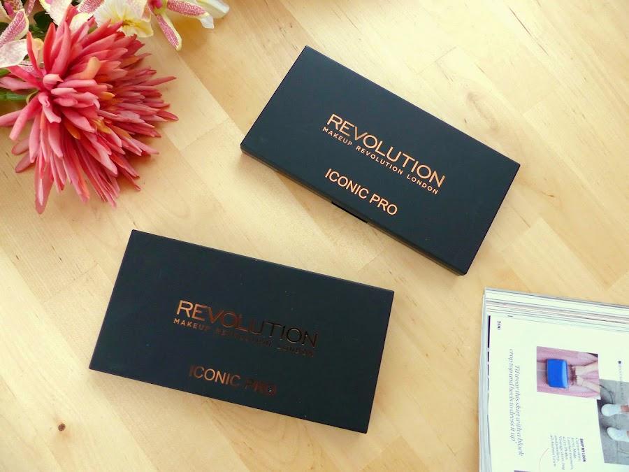 Reseña de la paleta de Mekeup Revolution Iconic Pro 01 + look 2