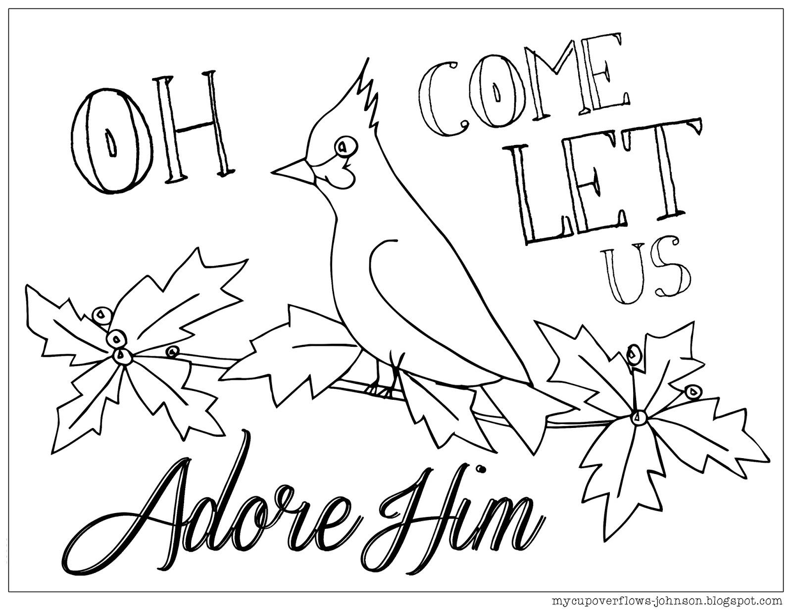 Coloring Page Christmas Coloring Page Christmas Bible | PicGifs.com | 1237x1600