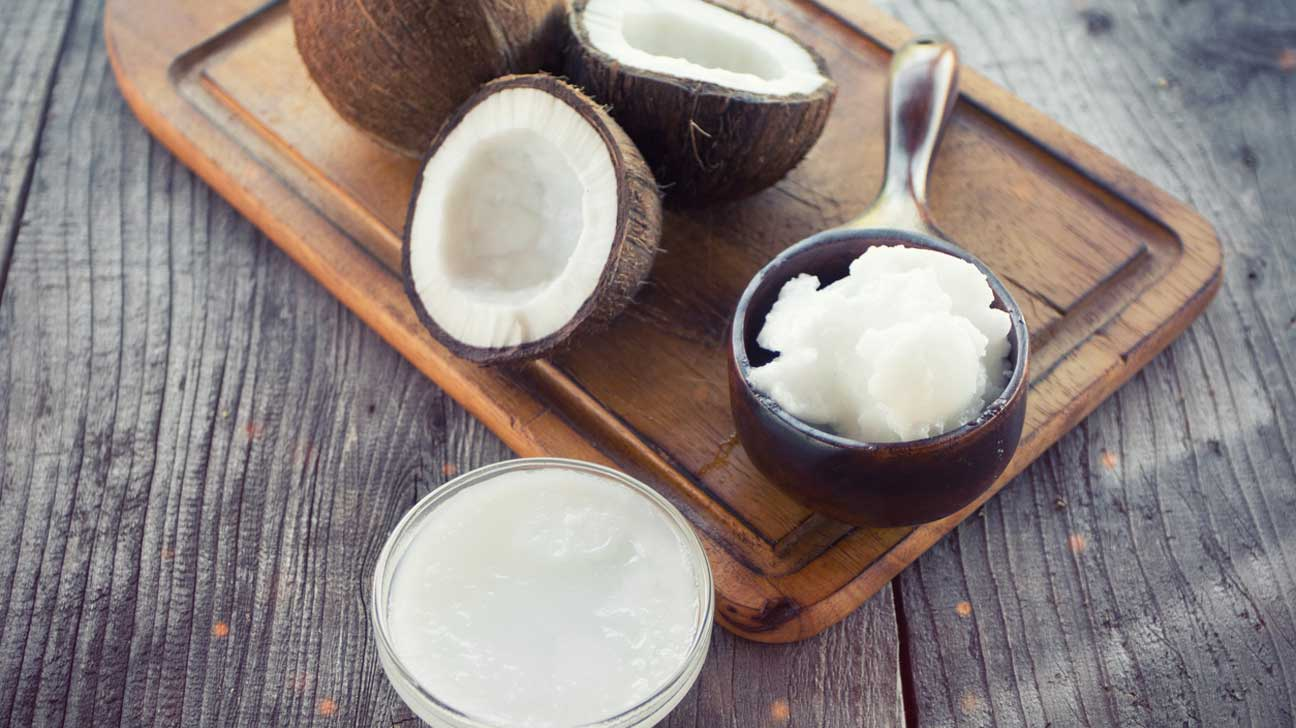 coconut oil, coconut