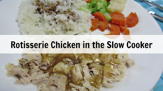 Rotisserie Chicken in the Slow Cooker