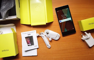 Infinix hot 2 with box