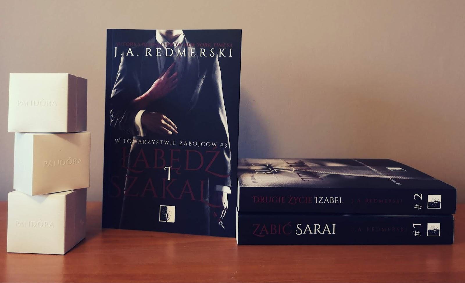 de22f5b5e70e73 Zainfekowana książka: Łabędź i Szakal - J.A. Redmerski