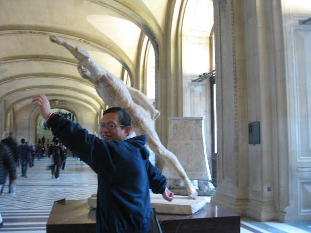 Jen & Angel In Europe Paris Day 5 - Free Museum Louvre L'orangerie Musee 'orsay
