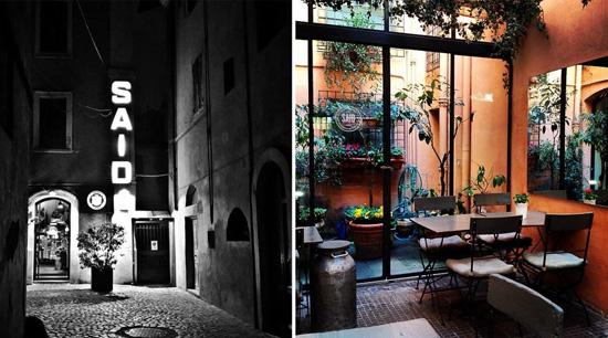 Said Roma entrada y terraza