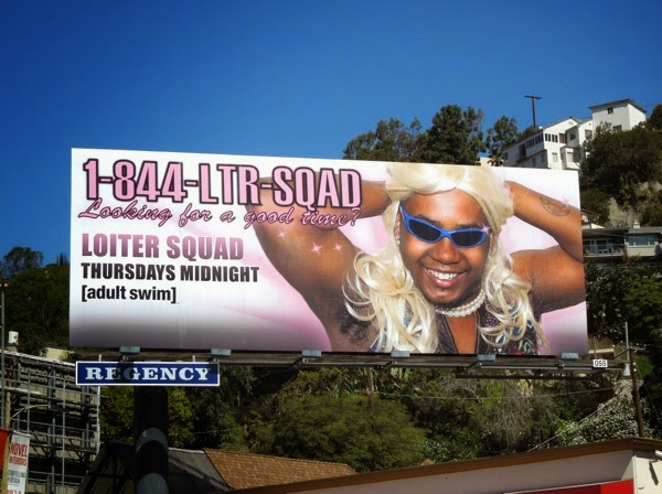 Loiter Squad season 3 call girl billboard
