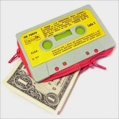 30 Awesome DIY Projects that You've Never Heard of - Cassette Tape Wallet