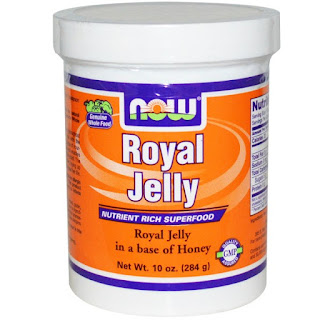 المنتج السادس خلطة غذاء ملكة النحل مع العسل