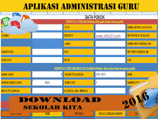 Download File Aplikasi Administrasi Guru