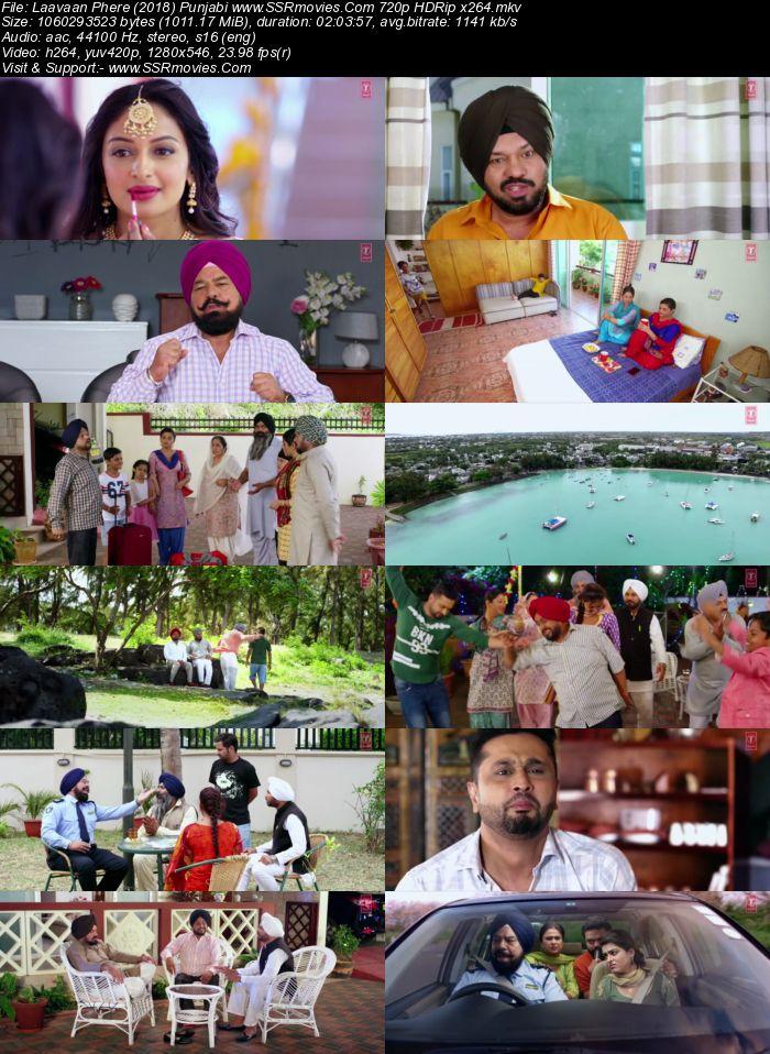 Laavaan Phere (2018) Punjabi 480p HDRip x264 350MB Movie Download