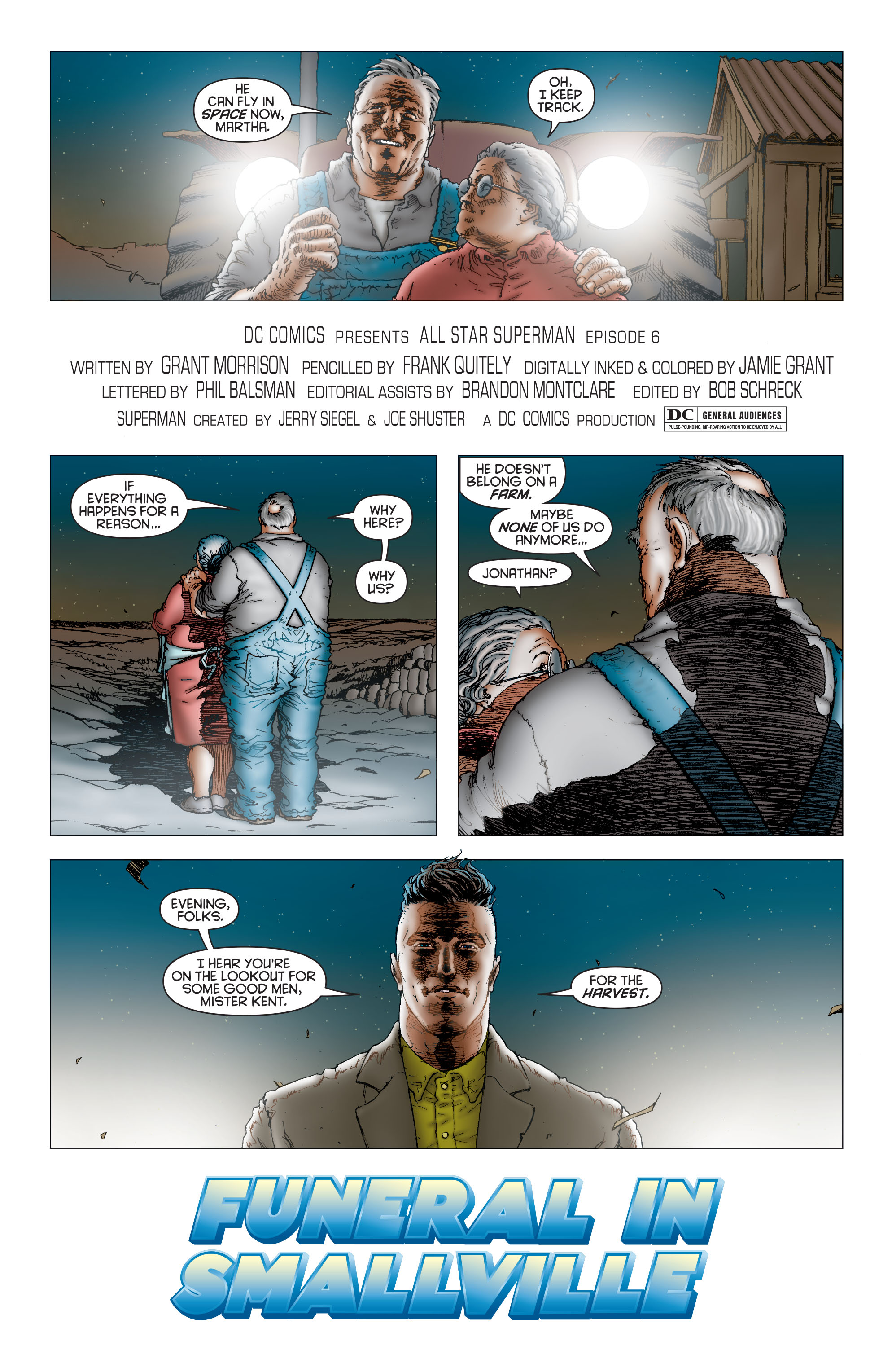 Read online All Star Superman comic -  Issue #6 - 6