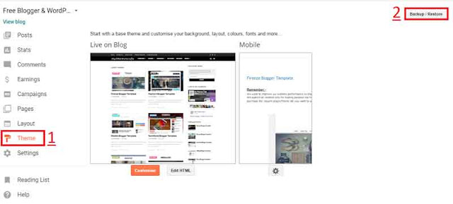 Blogger Theme Installation Guide