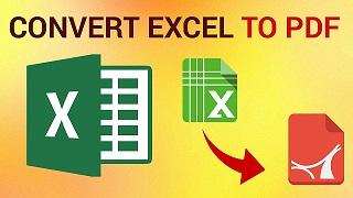 Mengubah File Exel Menjadi PDF