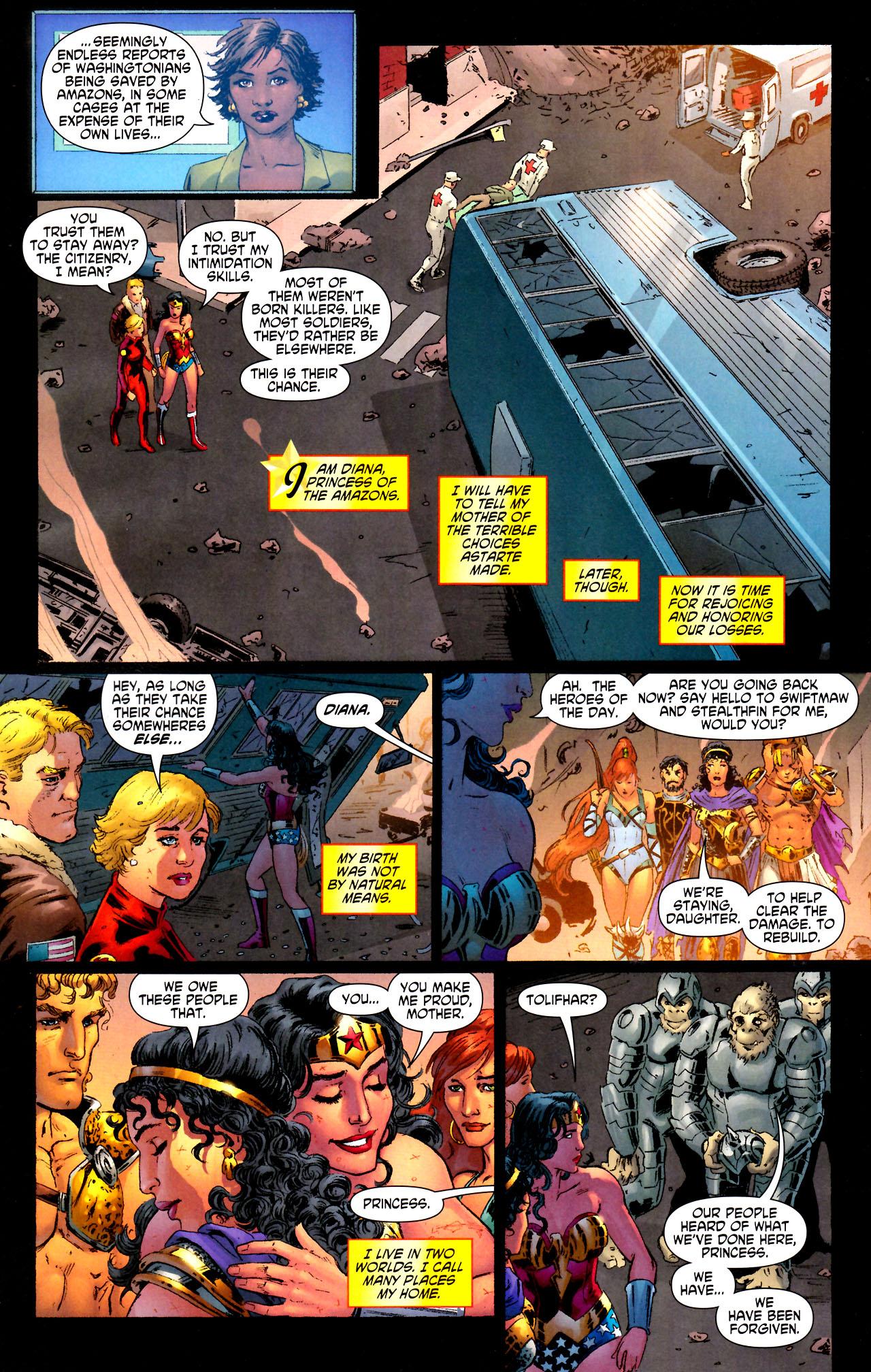 Read online Wonder Woman (2006) comic -  Issue #44 - 22