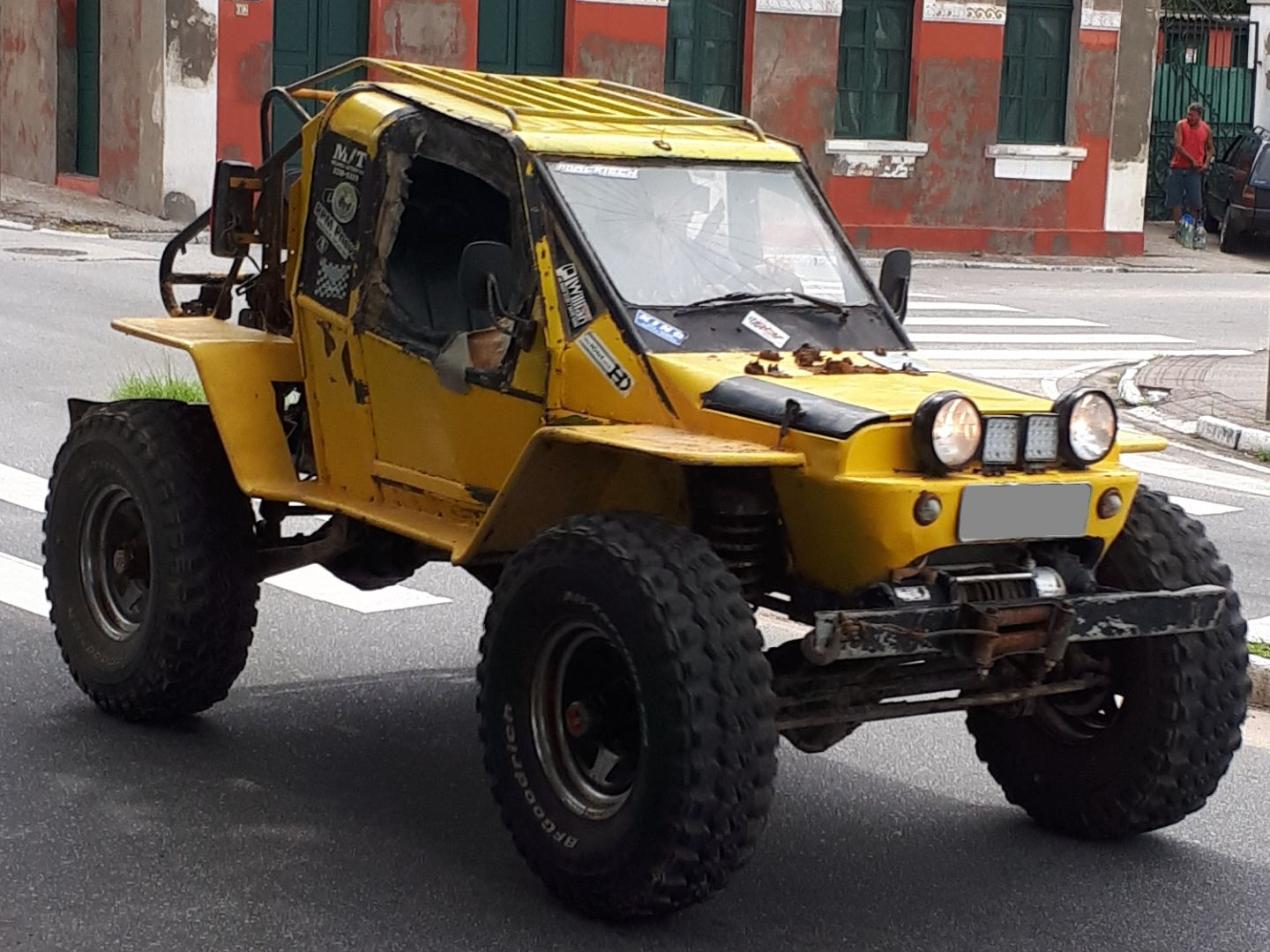 workaround ideas to discuss among friends: 4WD sand-rail buggy