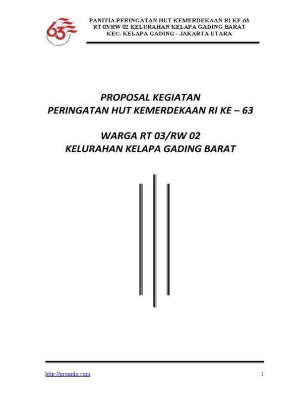 contoh proposal 17 agustus pdf terbaru