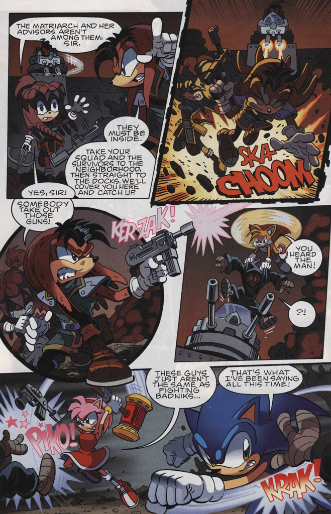 Read online Sonic The Hedgehog comic -  Issue #243 - 24