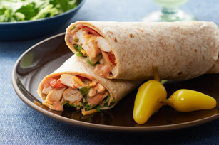 Chicken Fajita Roll Recipe