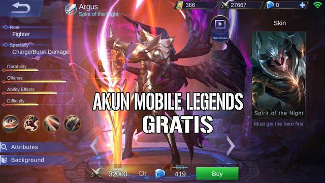 Akun Mobile Legends Hasil Phising 2018
