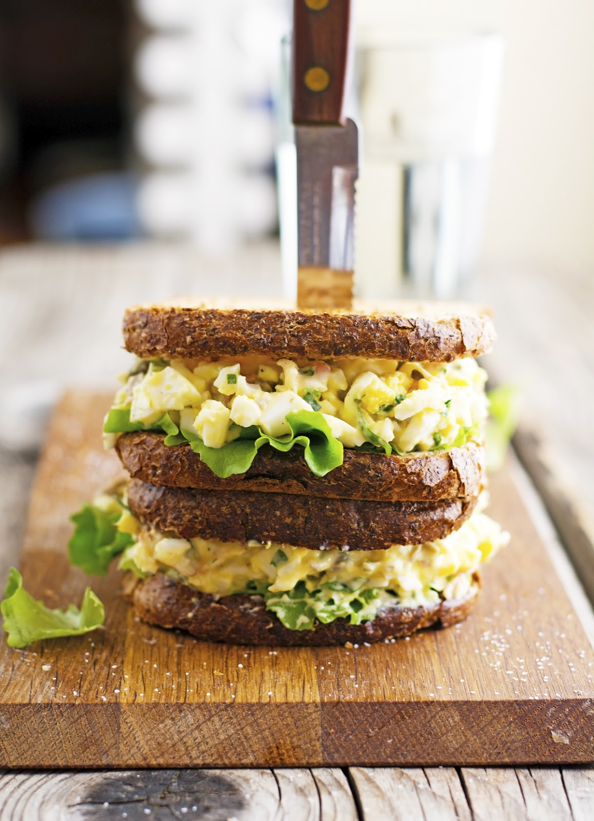 Fancy Egg Salad