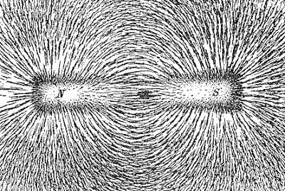 Garis Khayal Magnet