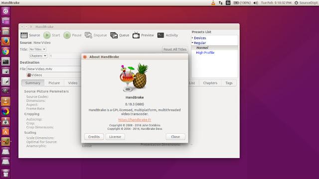 Cara Install Handbrake di Linux Ubuntu