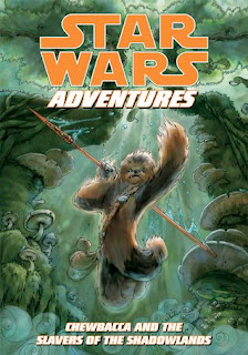 bookcover of CHEWBACCA AND THE SLAVERS OF THE SHADOWLANDS (Star Wars Adventures Graphic Nove)