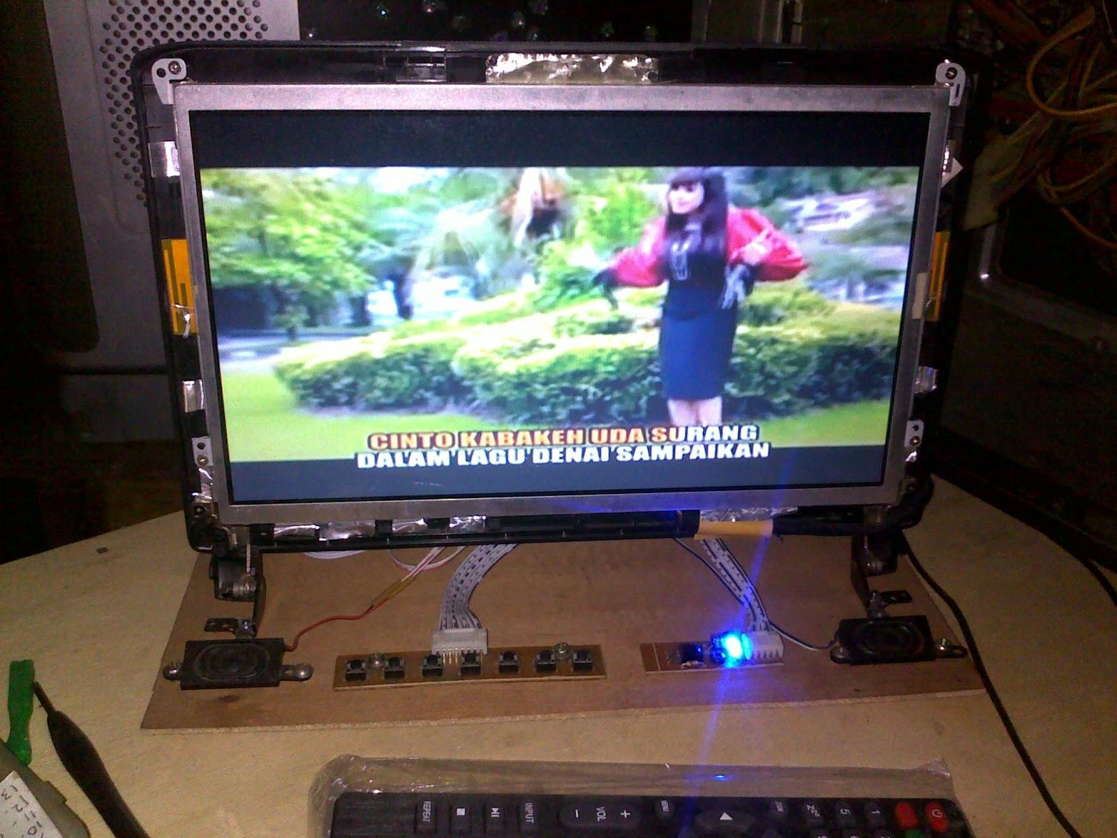 Cara Merubah Laptop Rusak Menjadi TV Dengan Biaya Murah