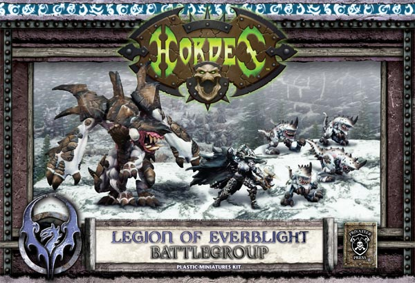 HORDES Battlegroup starter plastic set photo
