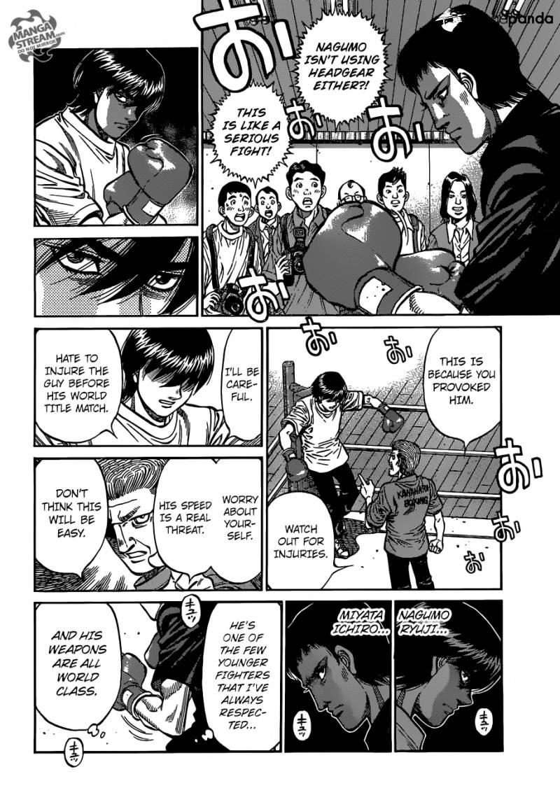 Hajime no Ippo - Chapter 1160