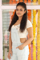 Mishti Chakraborty in lovely Jumpsuit and crop top at Wings Movie Makers Production No 1 movie launch ~  Exclusive 66.JPG