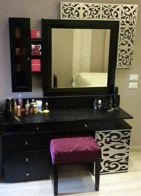 Latest 70 Modern Dressing Table Designs with mirror for ...
