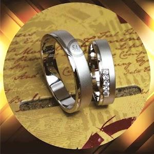 cincin paladium perak p5326