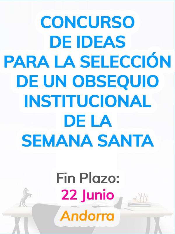 Concurso de ideas para la selección de un obsequio institucional de la Semana Santa