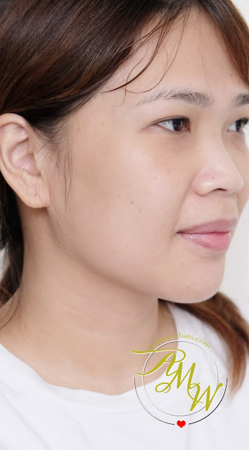 after photo of Crazy! Lifting Mask review by Nikki Tiu of www.askmewhats.com