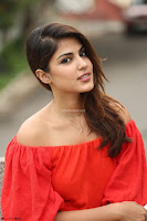 Rhea Chakraborty in Red Crop Top and Denim Shorts Spicy Pics ~  Exclusive 344.JPG