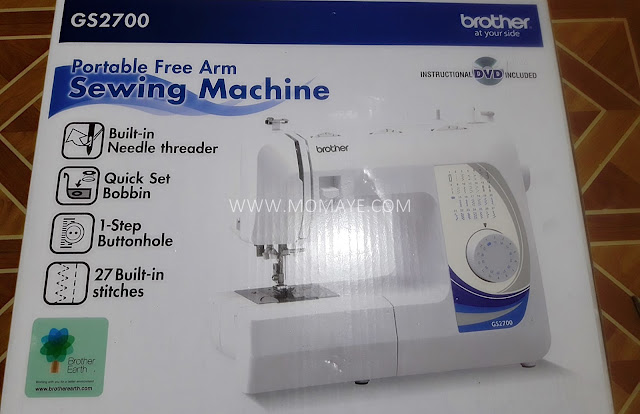 sewing machine, Brother, portable sewing machine, Brother GS2700