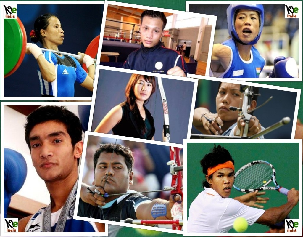 List Of Sports Personalities From North East India For