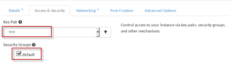 Part 4: How to create, launch and connect to an instance from scratch in Openstack