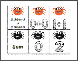 https://www.teacherspayteachers.com/Product/Doubles-Addition-Spider-Math-Activities-Autumn-Activity-Fall-Activity-329059