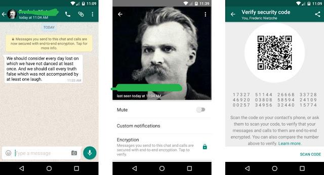 Whatsapp أكثر أمانا الآن لجميع المستخدمين بعد ان ظهرت رسالة الصفراء على حساباتهم