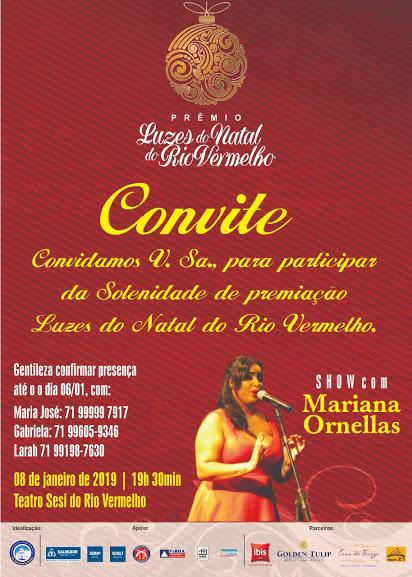 Premiação do concurso Luzes do Natal do Rio Vermelho será no próximo dia oito no Teatro Sesi