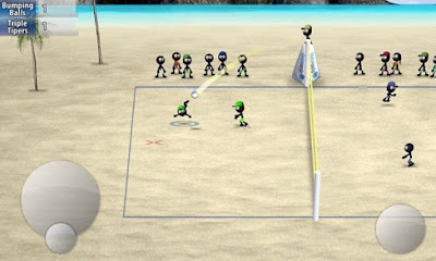 Stickman Volleyball Apk v1.0.2-screenshot-2
