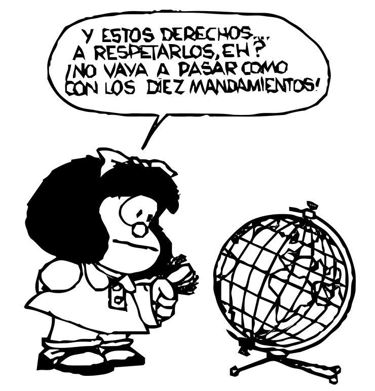 Mafalda y derechos