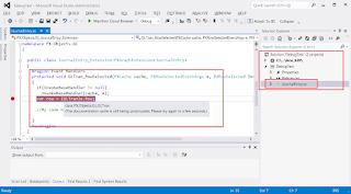 Acumatica Custom Code in Visual Studio
