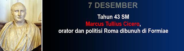 Catatan Sejarah Marcus Tullius Cicero