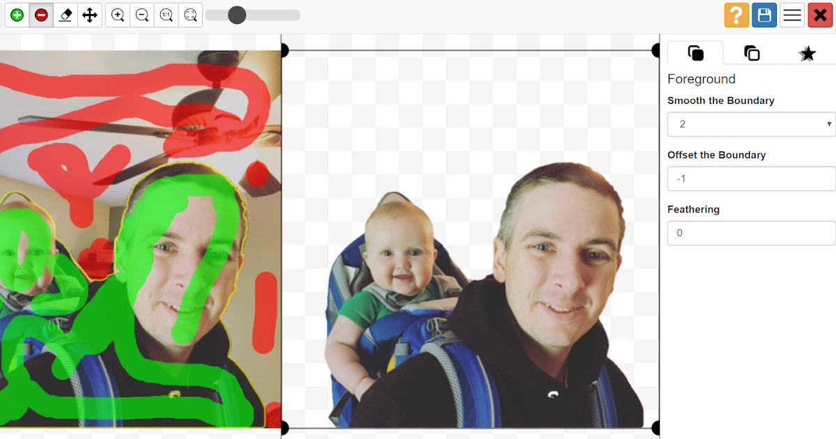 Remove Image Backgrounds With PhotoScissors